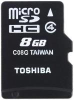 Toshiba SDHC 8 GB MicroSDHC Class 4 15 MB/s  Memory Card