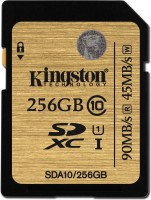 Kingston 256 GB MicroSDXC Class 10 45 MB/s  Memory Card