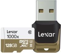 Lexar Professional 1000x 128 GB MicroSDXC Class 10 150 MB/s  Memory Card