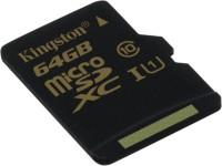 KINGSTON 64 GB MicroSDXC Class 10 90 MB/S  Memory Card