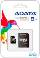 ADATA HC 8 GB SD Card Class 4 10 MB/s  Memory Card(With Adapter)