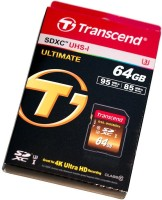 Transcend Ultimate 64 GB SD Card Class 10 95 MB/s Memory Card