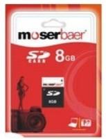 moserbaer 8 GB SD Card Class 4  Memory Card