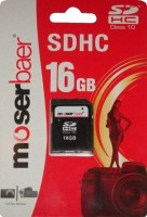 moserbaer 16 GB SDHC Class 10  Memory Card