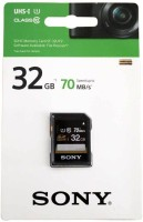 SONY UHS-I 32 GB SDHC Class 10 70 MB/s  Memory Card