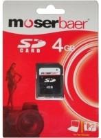 Moserbaer 4 GB SDHC Class 4  Memory Card