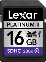 View Lexar Professional 16 GB SDHC Class 10  Memory Card Price Online(Lexar)
