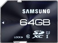 SAMSUNG 64 GB SDXC Class 10 80 MB/s  Memory Card