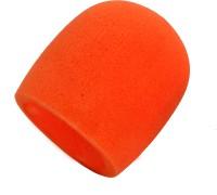 Prodx Ws005 Windscreen Microphone Foam Orangepack Of-2pcs shield sponge foam(Orange)