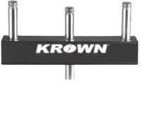 KROWN 3 Microphone Tee Connector Microphone Stand(Multicolor)