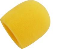 Prodx Windscreen Microphone Foam Pack Of-2pcs Shield Sponge Foam(Yellow)