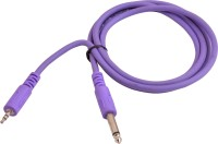 Prodx 3.5mm Stereo Male to 6.35 mono cable 1.5meter cable(Purple)