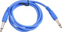 Prodx 6.35 mono male to 6.35mm mono male high grade 1.5meter cable(Blue)