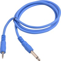 Prodx 3.5 sterio male to p38 mono cable 1.5meter cable(Blue)