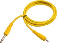 Prodx 6.35 male to 3.5mm sterio cable 1.5mtr cable(Yellow)