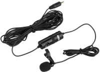 "BOYA By-m1 3.5mm Electret Condenser Microphone with 1/4"" Adapter for Smartphones, Dslr, Camcorders Microphone thumbnail"