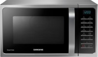 SAMSUNG 28 L Convection Microwave Oven(MC28H5025VS, Silver)
