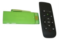 Shrih Android TV Box - Android, Dual Core 1.6GHz Cortex-A9, 1.6GHz Cortex-A9, 1 GB DDR3, 1 GB USB 2.0 1 Stick PC(Green)