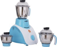 Suraksha Benz 750 W Juicer Mixer Grinder(Blue, 3 Jars)