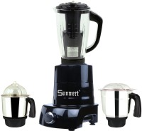 Sunmeet MA ABS Body MGJ WF 2017-64 600 W Mixer Grinder(Black, 3 Jars)