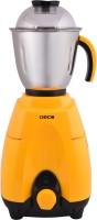 DECO JAZZO 1 HP 700 W Mixer Grinder(Orange, 3 Jars)