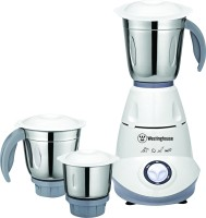 Westinghouse MM50W3A-DS 500 W Mixer Grinder(Grey, White, 3 Jars)
