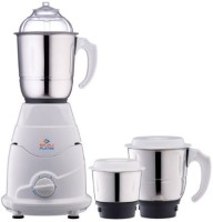 BAJAJ PX71M 550 W Mixer Grinder (3 Jars, White)