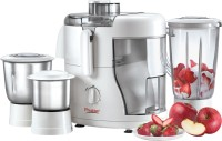 Prestige Champ 550 W Juicer Mixer Grinder(White, 3 Jars)