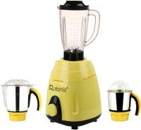 Rotomix RTM ABS PlasticMGJ-MA17 600W 600 W Juicer Mixer Grinder(Multicolor, 3 Jars)