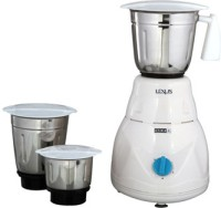 Usha MG2853 500 W Mixer Grinder(White, 3 Jars)