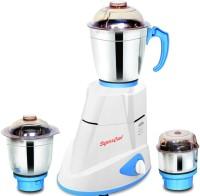 Signoracare Maxima 750 W Mixer Grinder (3 Jars, White)
