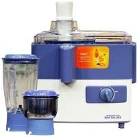 MAHARAJA WHITELINE Jx-207 450 W Juicer Mixer Grinder (2 Jars, Blue)