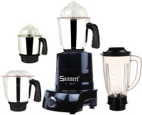 Sunmeet MA ABS Body MGJ WOF 2017-136 750 W Juicer Mixer Grinder(Black, 4 Jars)