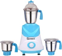 Sunmeet ABS Body MG16-BY934 1000 W Mixer Grinder(Yellow, 3 Jars)