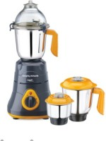 Morphy Richards primo classique 750 W Mixer Grinder(Grey & Orange, 3 Jars)