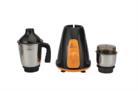 Green Home Alfa 450 W Mixer Grinder(Black, Orange, White, 2 Jars)