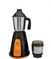 Green Home Aqua 500 W Mixer Grinder(Black, Orange, White, 2 Jars)