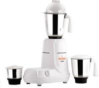 Kanchan Triset 550 W Mixer Grinder(White, 3 Jars)