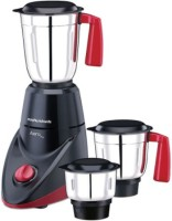 Morphy Richards AERO PLUS 500 W Mixer Grinder(Black & Wine, 3 Jars)