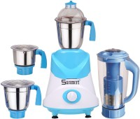 Sunmeet ABS Body MG16-BY935 1000 W Mixer Grinder(Yellow, 4 Jars)