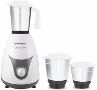 Westinghouse MP60W3A-DS 600 W Mixer Grinder(White, 3 Jars)