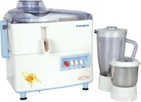 Crompton Prima 450 W Juicer Mixer Grinder(White, Blue, 2 Jars)