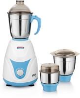 PADMINI Royal 600 W Mixer Grinder (3 Jars, White & Blue)
