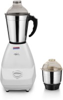 Padmini Cutee 350 W Mixer Grinder(White, 2 Jars)