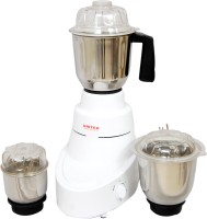 United 004-Fabia 600 W Mixer Grinder (3 Jars, White)