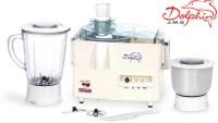 PADMINI Dolphin 450 W Juicer Mixer Grinder (2 Jars, white)