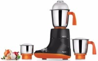 Pigeon Egnite 750 W Mixer Grinder(Balck, Orange, 3 Jars)