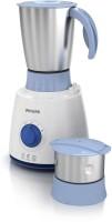 PHILIPS HL7600 350 W Mixer Grinder (2 Jars, White & Blue)