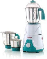 sowbaghya Orchid 550Watts Mixer Grinder 550 W Mixer Grinder(white and green, 3 Jars)