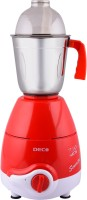 DECO SENORITA 750 W HEAVY DUTY 750 W Mixer Grinder(Red, White, 3 Jars)
